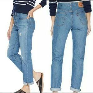 Levi's 501 Women's High Waist Straight Leg Jeans
